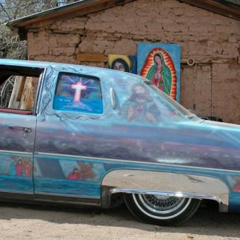 Lowrider car from Chimayo