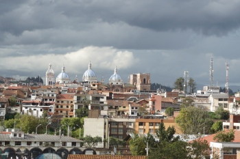 The Skies of Cuenca, Ecuador